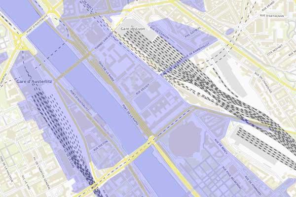 oversvømmelseszone paris gare de lyon
