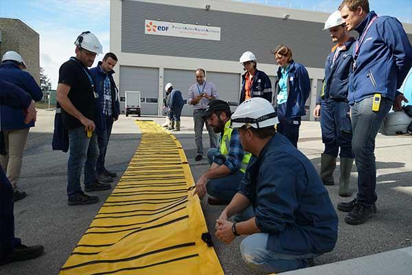 Uddannelse i beskyttelse mod oversvømmelser ved EDF