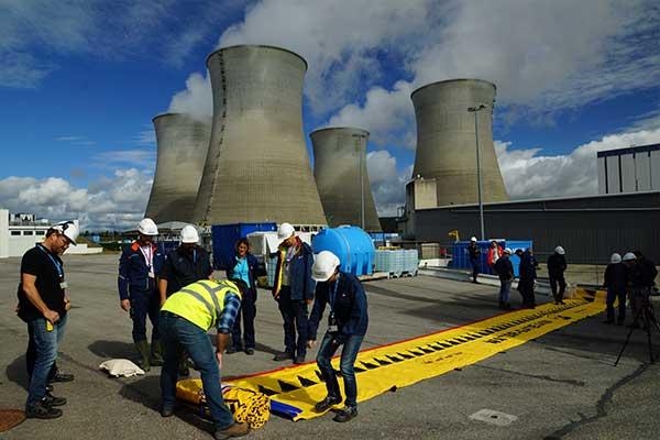 Beskyttelse mod oversvømmelse af atomkraftværk