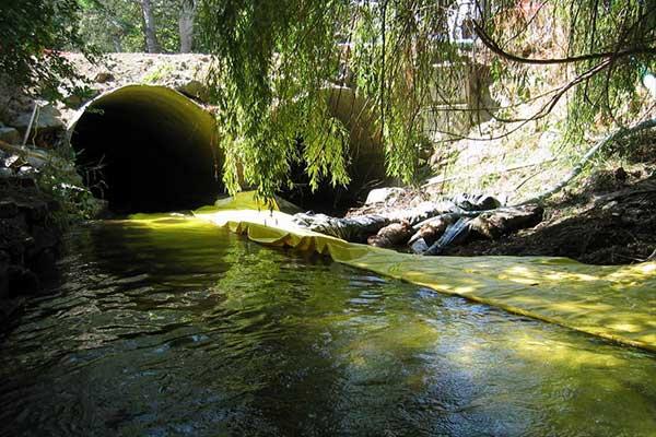 cofferdam isolering bruge floden