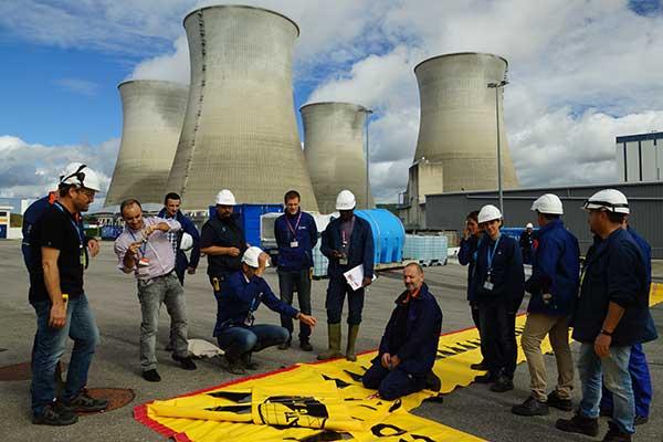 EDF-uddannelse om oversvømmelsesbeskyttelse