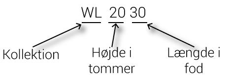 Forklaring af WL-sortimentet af oversvømmelseskontrolldammer