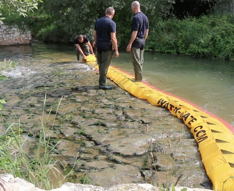 Sådan tørrer du en flodgrænse op på 3 minutter!
