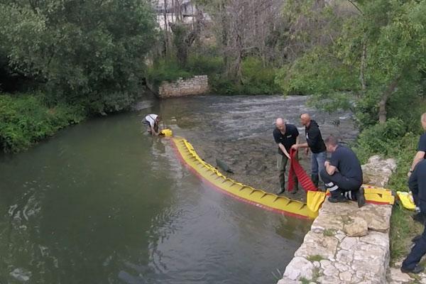 Sådan tørrer du en flodgrænse op på 3 minutter! Model WL-06 med integreret forkobling.