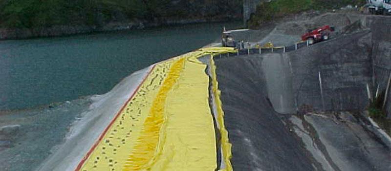 Fortuna Dam | Panama | Forhøjelse af spildevand fra en vandkraft dæmning.