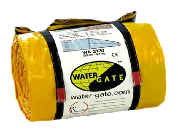 Watergate oversvømmelse dæmning roll